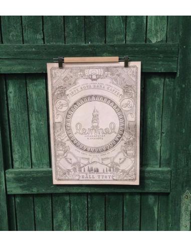 Lemmel Poster - Kokkaffefördraget