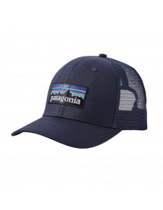 Patagonia P-6 Logo Trucker Hat Navy
