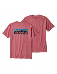 Patagonia Logo Responsibilli-Tee M´s Pink